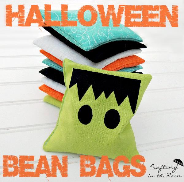 Halloween Bean Bags