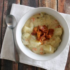 New England Clam Chowder 2