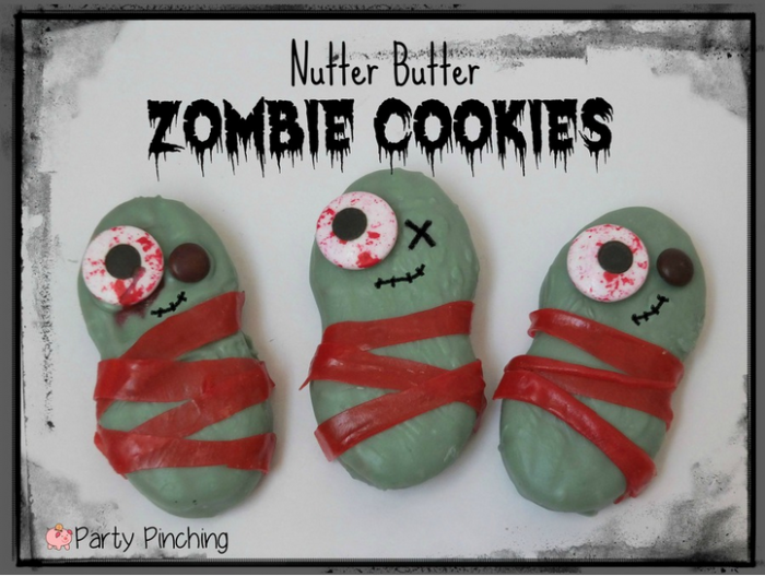 Nutter Butter Zombie Cookies
