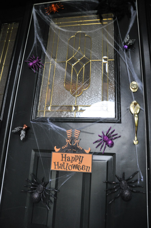 Spooky Spider Door Magnets