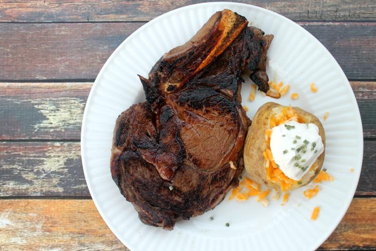 Balsamic Whiskey Marinated Steak