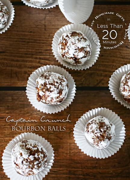 Captain Crunch Bourbon Balls