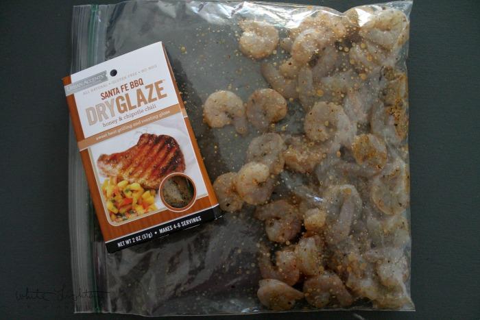 Honey Chipotle Shrimp with Cheesy Polenta | White Lights on Wednesday
