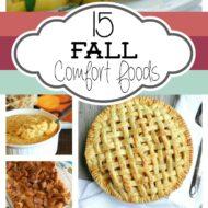 15 Fall Comfort Foods