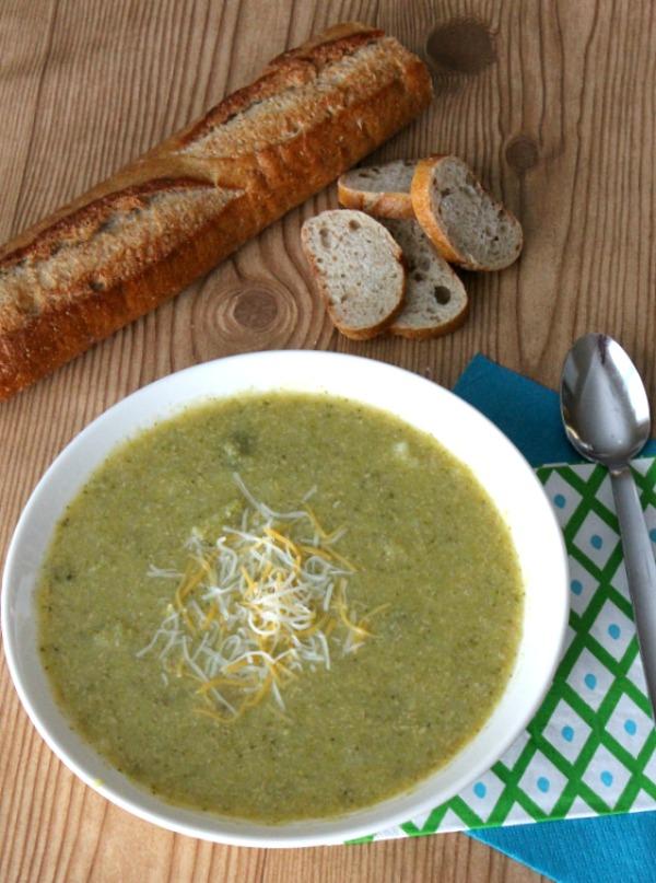 Potato and Broccoli Soup | White Lights on Wednesday