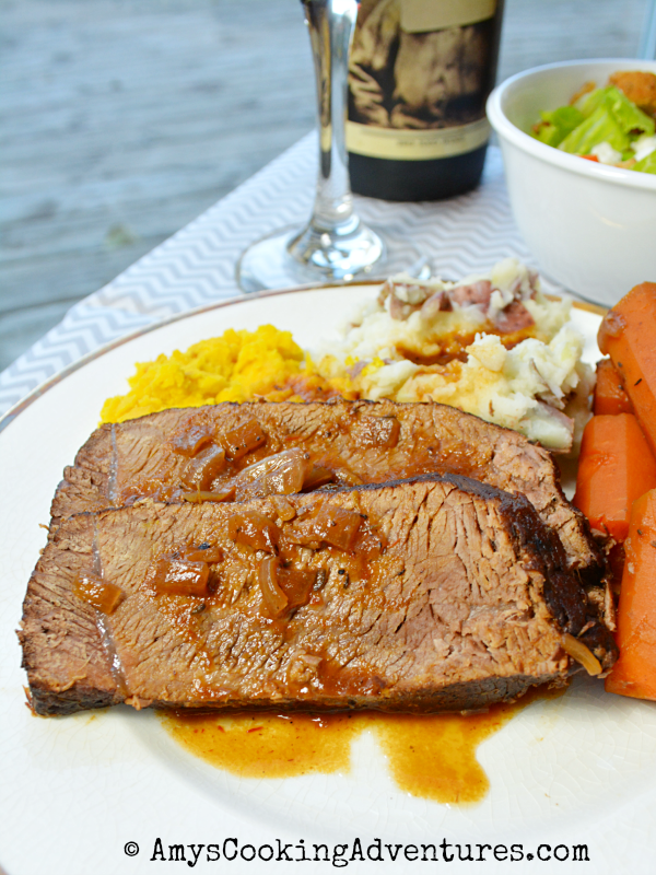 Red Wine Pot Roast with Honey & Thyme