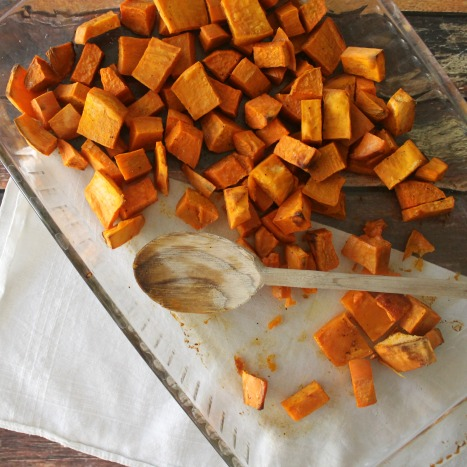 Simply Roasted Sweet Potatoes