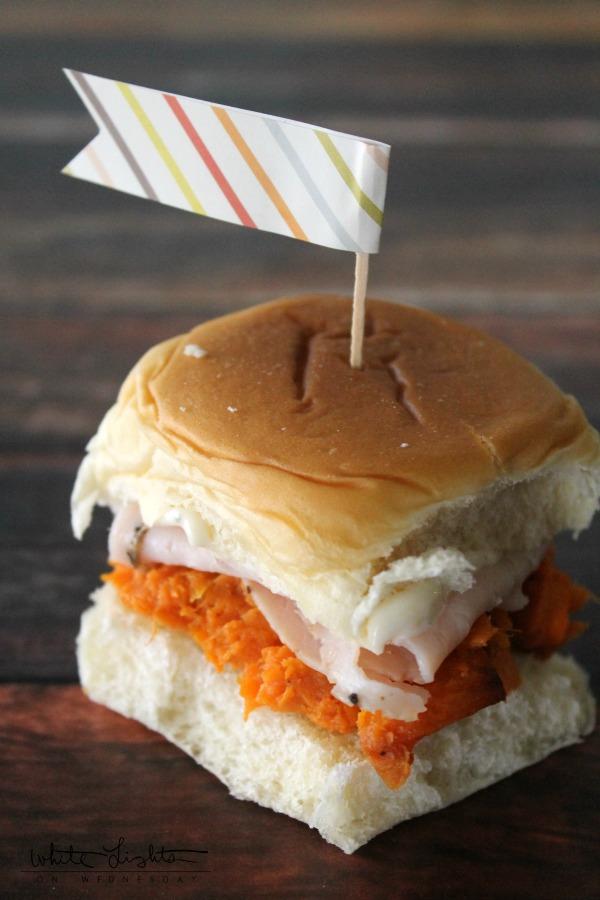 Sweet Potato & Turkey Sliders | White Lights on Wednesday