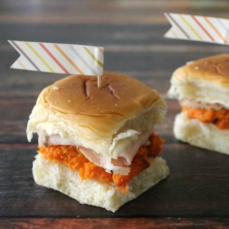 Sweet Potato and Turkey Slider
