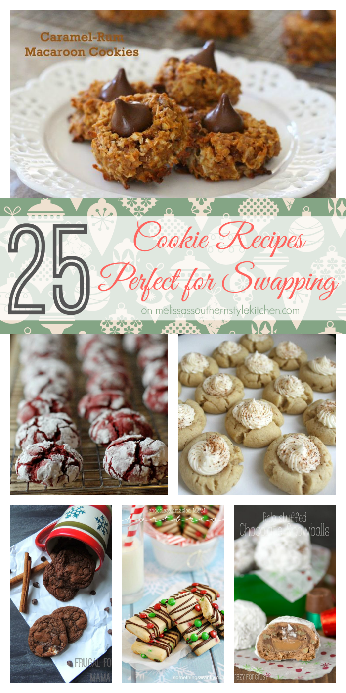 25 Cookie Recipes Perfect for Swapping