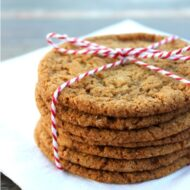 Crisp and Chewy Ginger Snap Cookies
