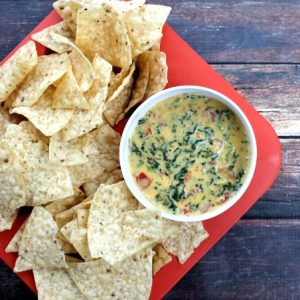 Crock Pot Spinach and Bacon Cheese Dip FEAT