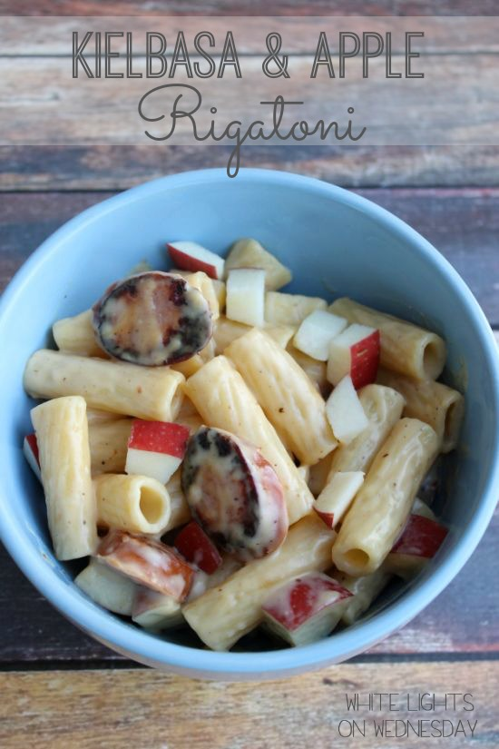Kielbasa & Apple Rigatoni