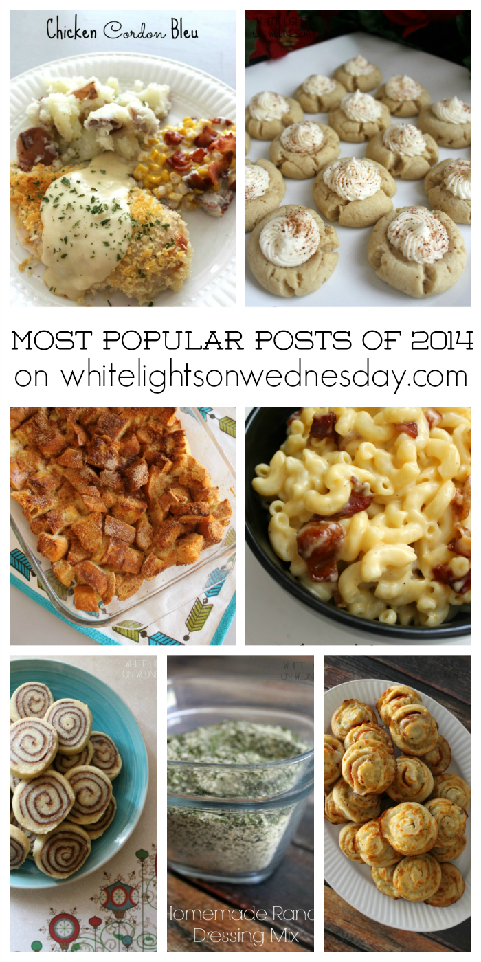 Most Popular Posts of 2014 on White Lights on Wednesday