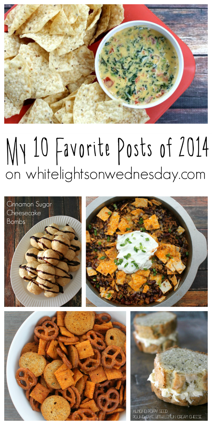 My 10 Favorite Posts of 2014 on White Lights on Wednesday