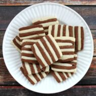 Striped Shortbread