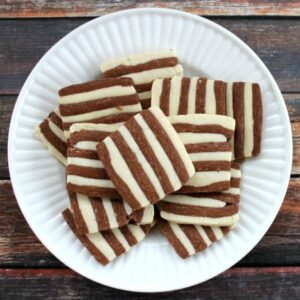 Striped Shortbread FEAT