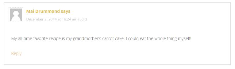 comment winner