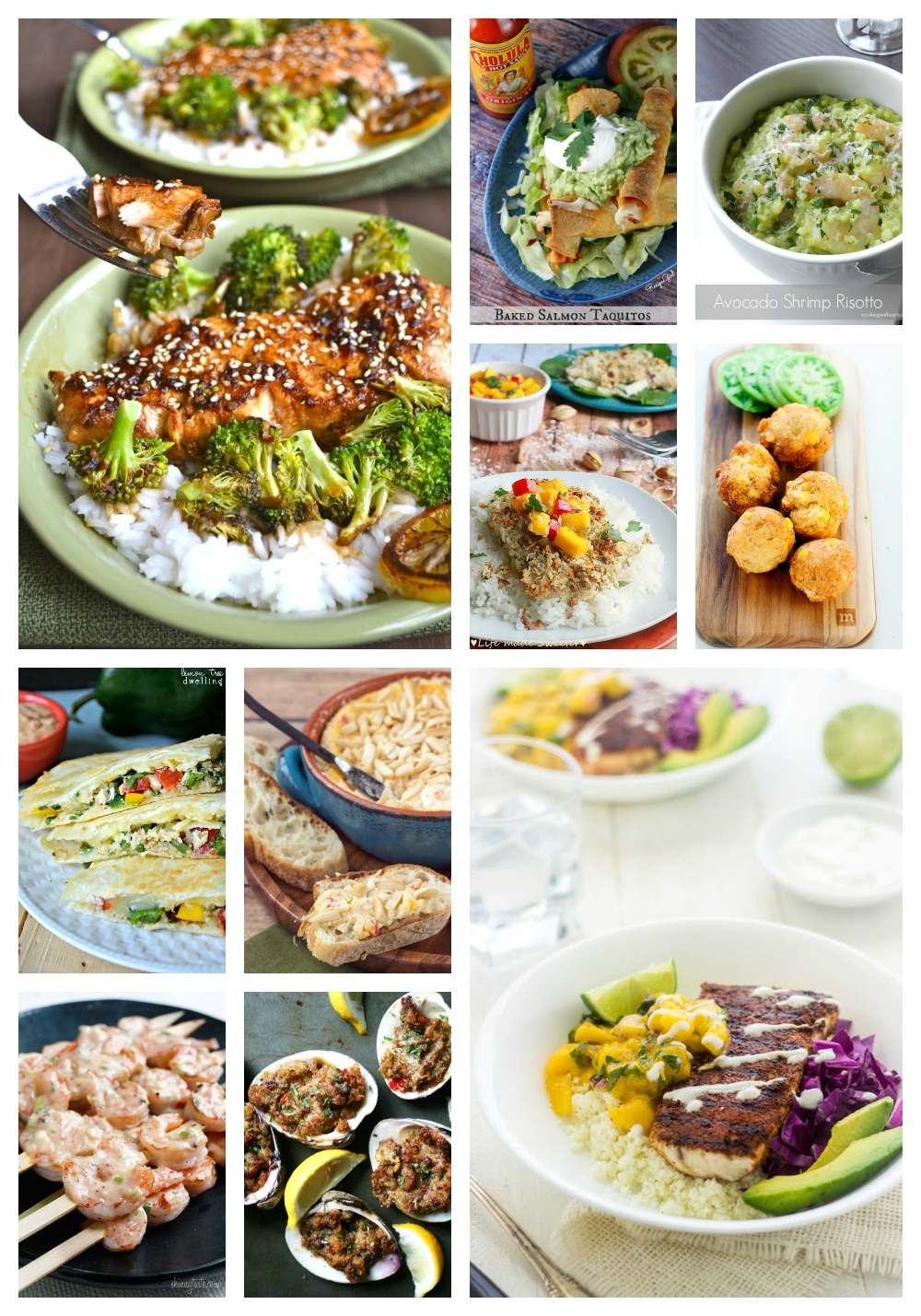 50 Seafood Recipes | White Lights on Wednesday