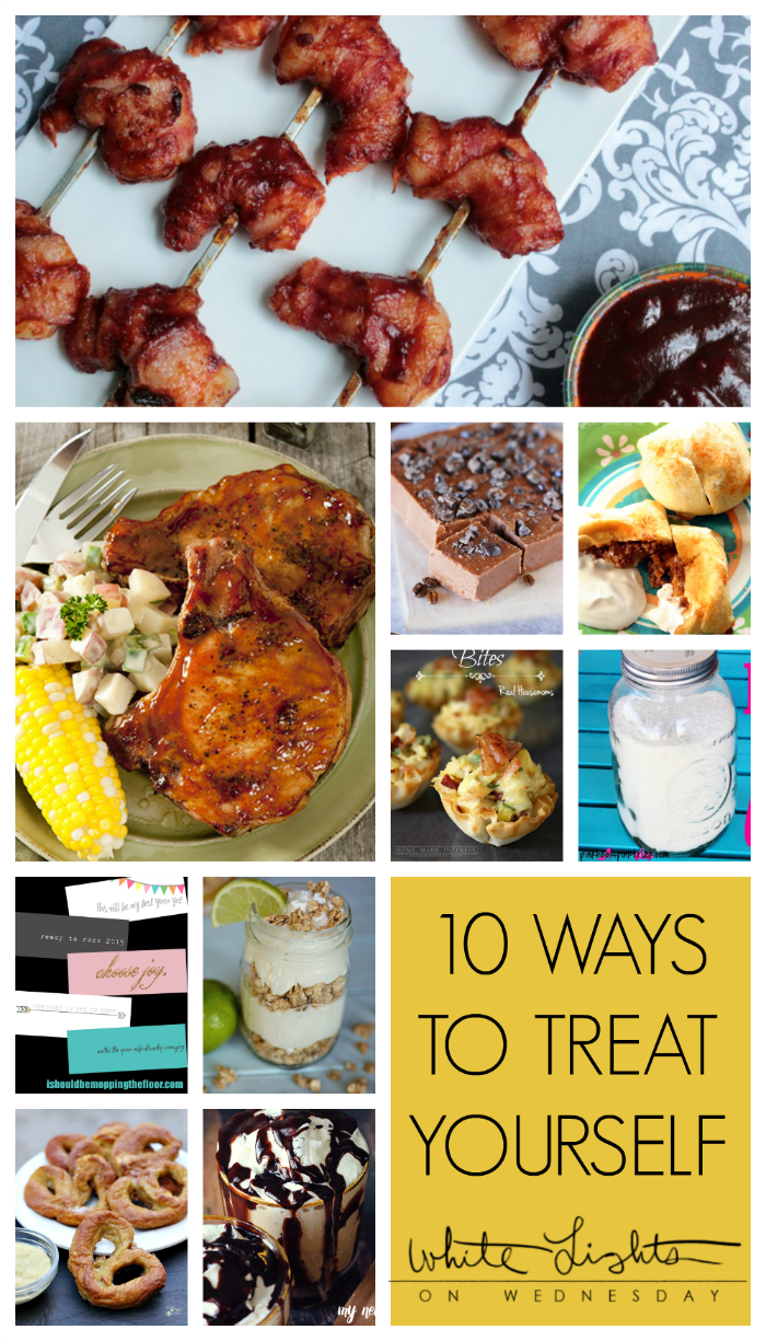 10 Ways to Treat Yourself | White Lights on Wednesday