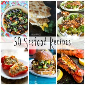 50 Seafood Recipes SQUARE