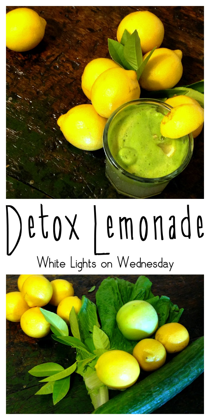 Detox Lemonade | White Lights on Wednesday
