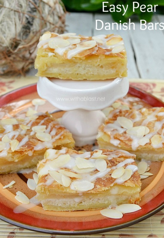 Easy Pear Danish Bars-P