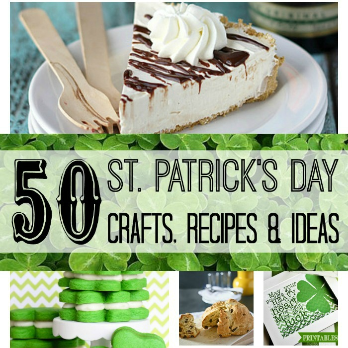 50 St. Patrick's Day Crafts, Recipes & Ideas
