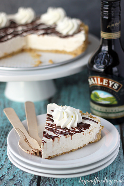 Bailey's Spiked Ice Cream Cake