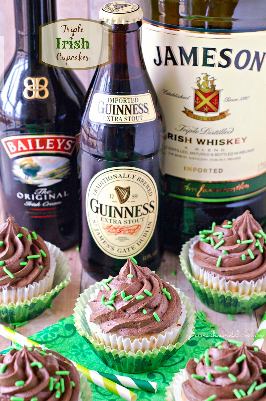 Triple-Irish-Cupcakes-