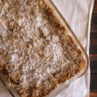 Bananas Foster Bread Pudding