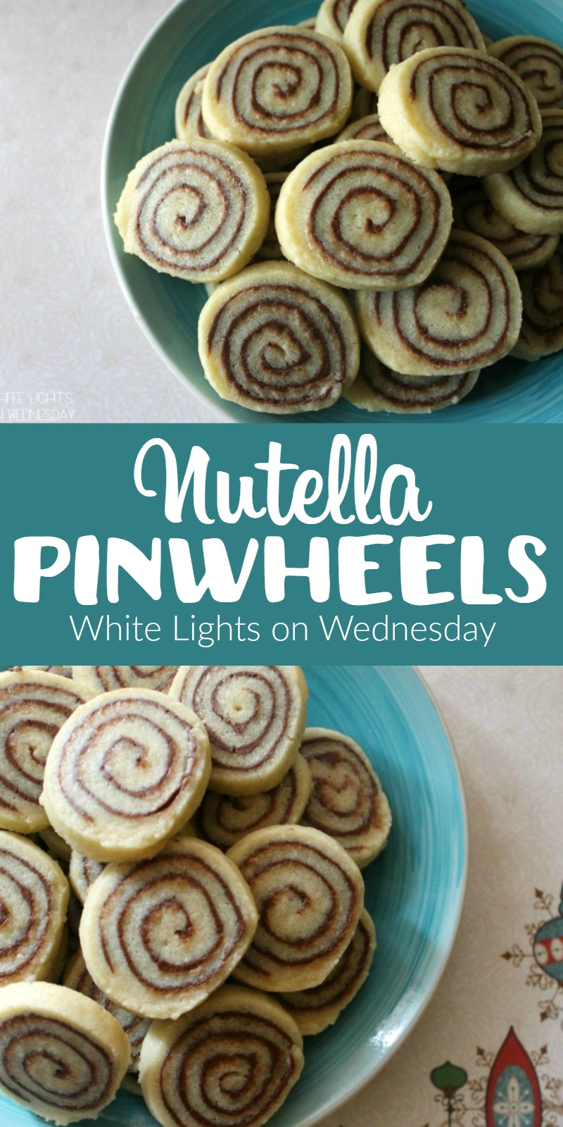 Nutella Pinwheels | White Lights on Wednesday