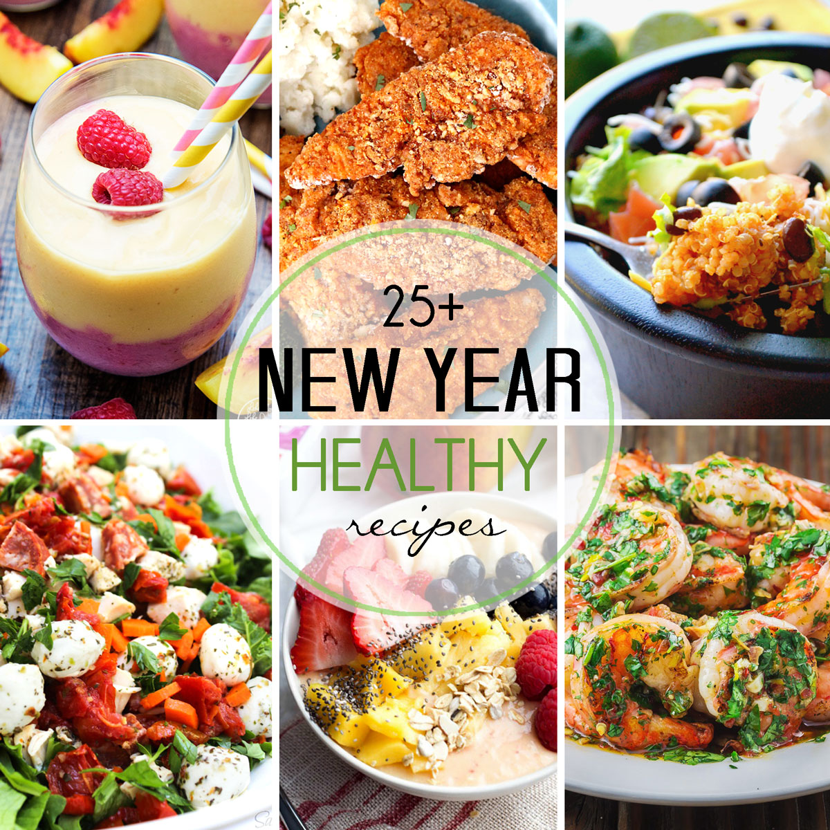 More Than 25 Healthy Recipes for the New Year
