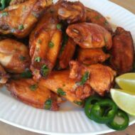 Sriracha Lime Chicken Wings