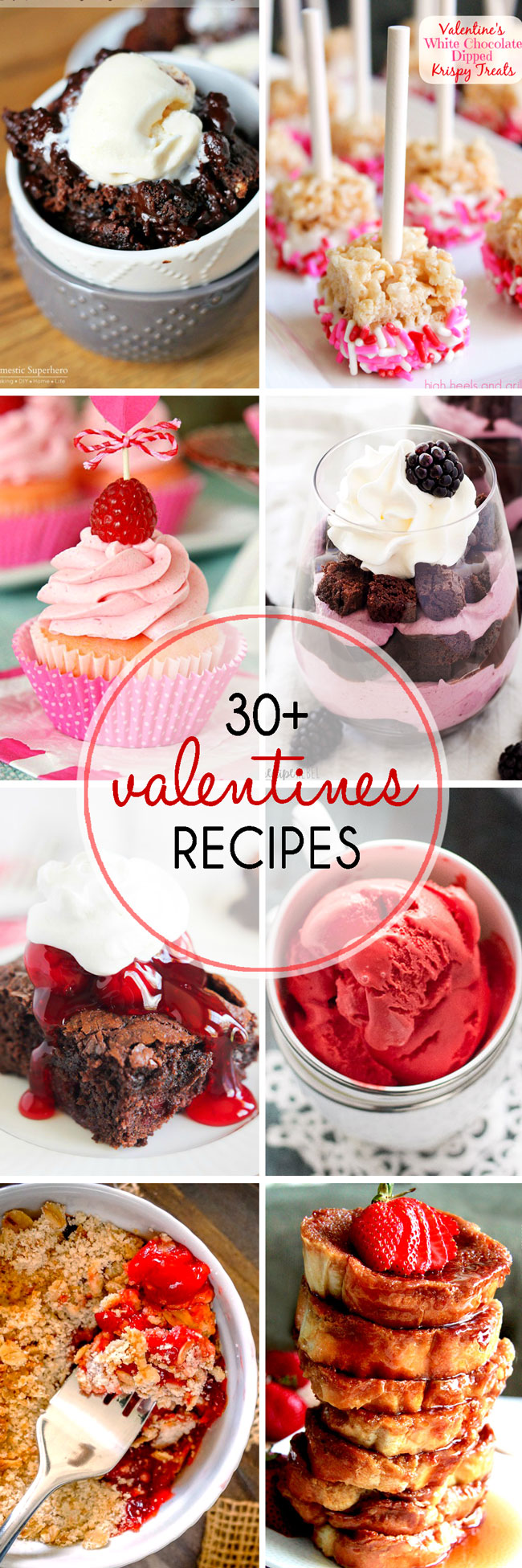 Valentine's Day is right around the corner! To help you celebrate with your sweetie, we've rounded up More Than 30 Valentine's Day Dessert Recipes that are made for sharing!