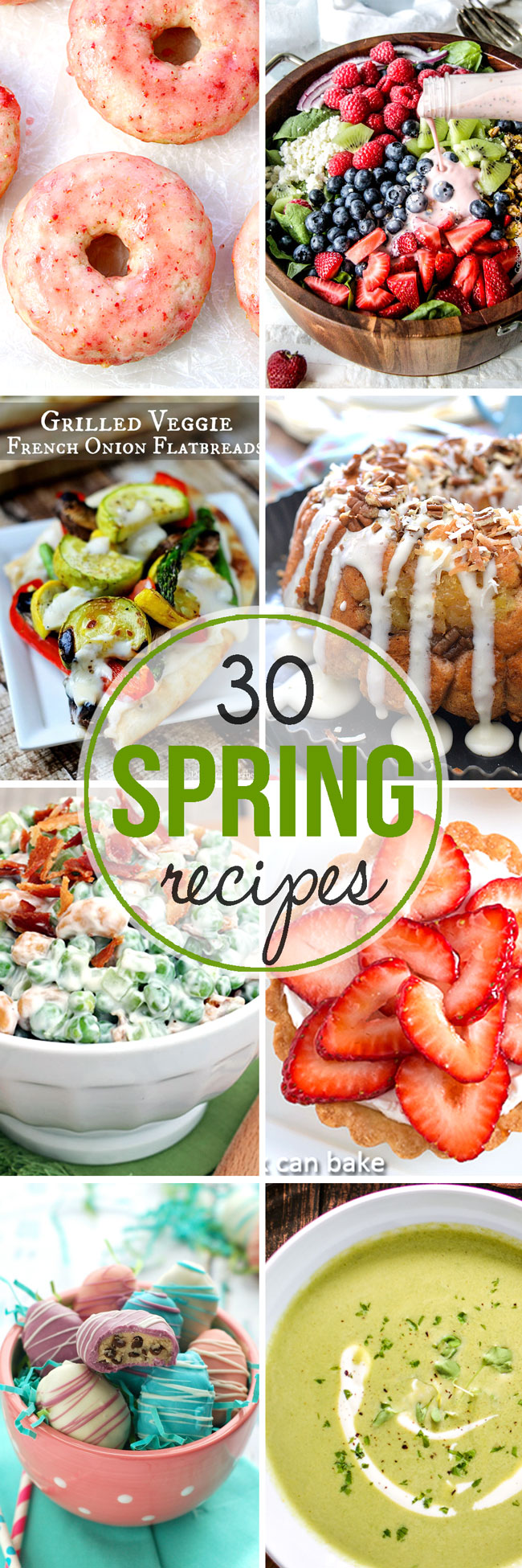 These 30 Recipes to Celebrate Spring are the best way to beat the winter blues and welcome the renewed joy and life of the season!