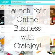 Launch Your Online Business with Cratejoy!