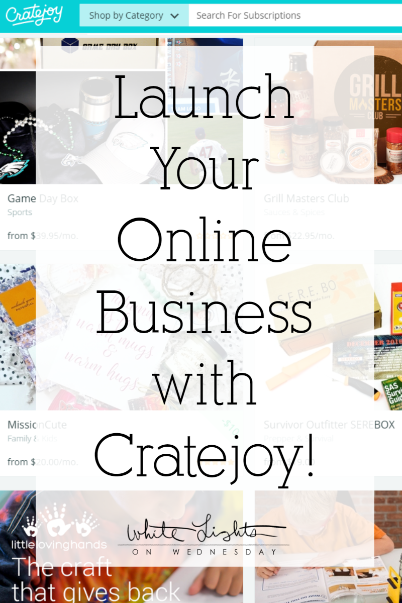 Subscription boxes are hot, Hot, HOT right now! They are also an amazing way to expand your business plan and reach a new audience by showing them a sampling of your work each month for one flat price. Sign up for Cratejoy, pick the box theme and let the fun begin!
