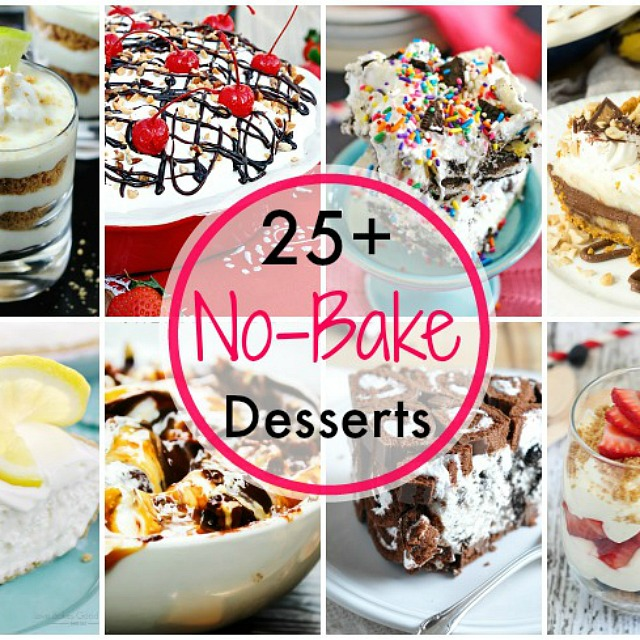 25+ No Bake Desserts for Summer