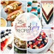 25+ 4th of July Party Recipes!