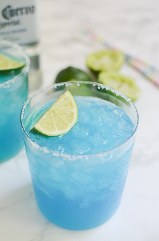 Blue Margaritas - Fake Ginger