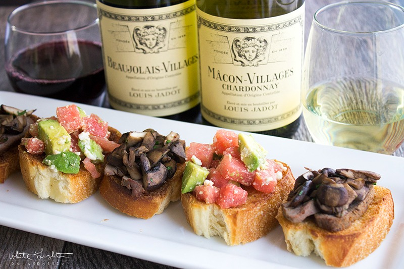 Mushroom & Steak Bruschetta is an easy to make appetizer that's perfect for everything from date night to your next cookout!
