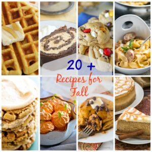 20+ Recipes for Fall | White Lights on Wednesday