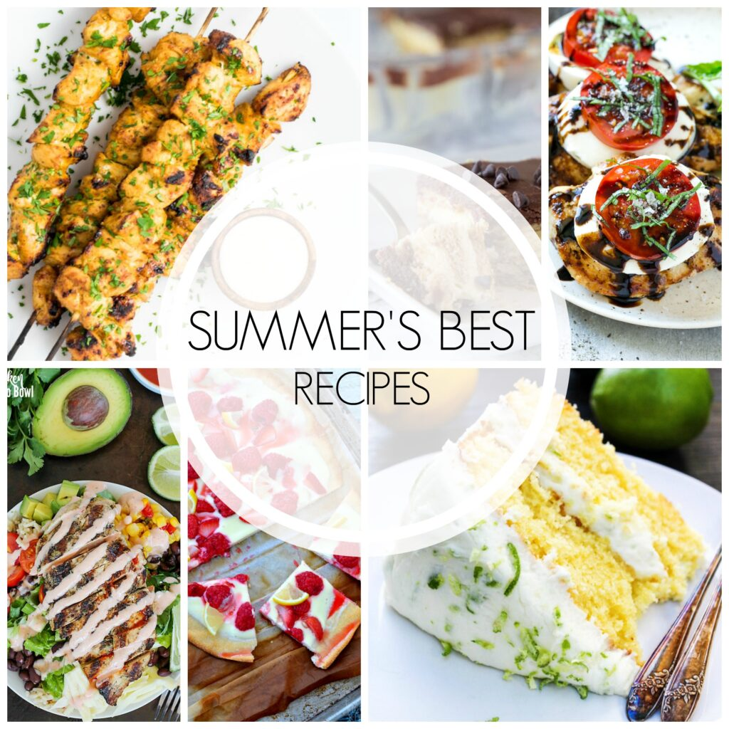 20+ of the Best Summer Recipes | White Lights on Wednesday