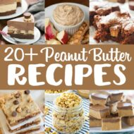 20+ Peanut Butter Recipes