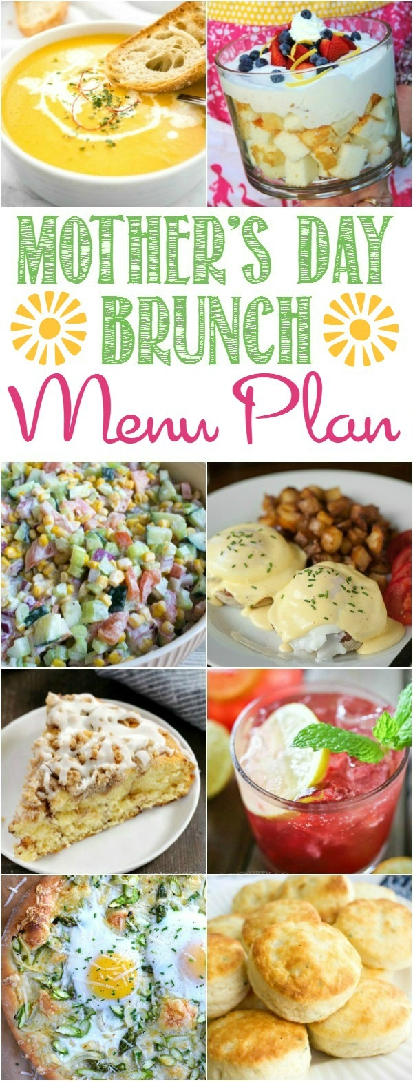 Show your mom just how special she is with these easy Mother's Day Brunch Menu Plan recipes!