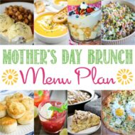 Mother's Day Brunch Menu Plan