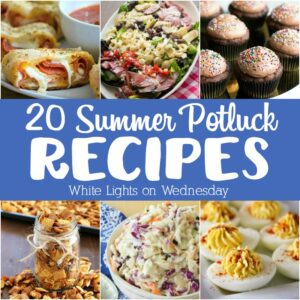These 20 Summer Potluck Recipes are always a hit and perfect for serving a crowd. Whether your hosting or a guest, these recipes are a life saver!